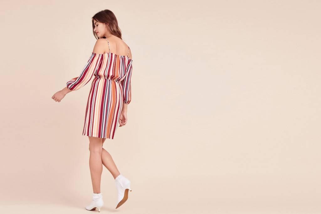 Jack by BB Dakota Eternal Sunshine Striped Dress