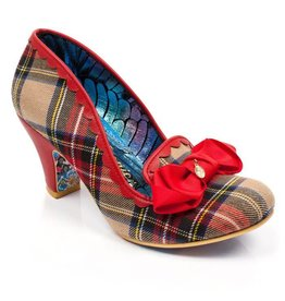 Irregular Choice Kanjanka Red Plaid