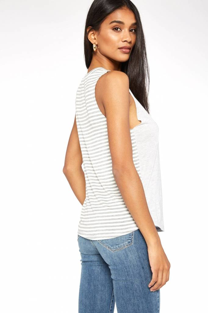 Project Social T Mila Mixed Striped Muscle