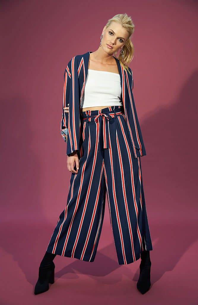 MINKPINK Nautica Cropped Trousers