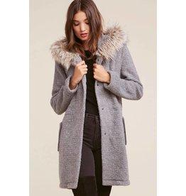 BB Dakota Girls N the Hood Ribbed Coat