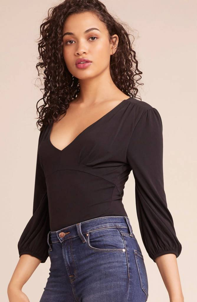 BB Dakota Let it Happen Balloon Sleeve Bodysuit