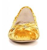 Sam Edelman Felicia Yellow Crushed Velvet