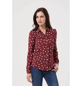 Sugarhill Brighton Grace Brit Pop Frill Shirt