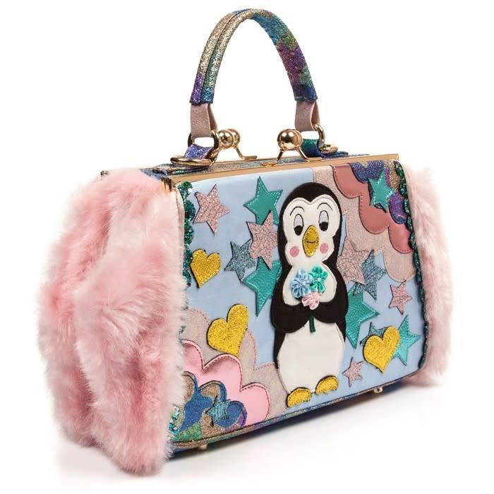 Irregular Choice Emperor Pebbles Handbag