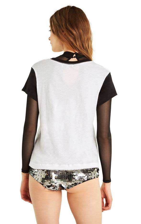 Wildfox Couture Girls Contrast No9 Tee