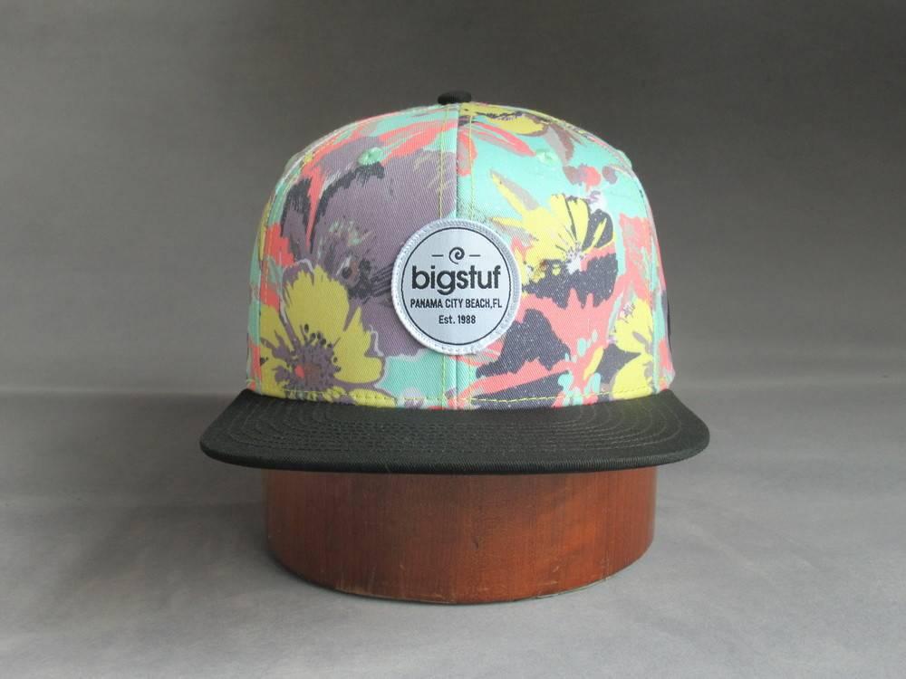 Floral 2-Tone Hat