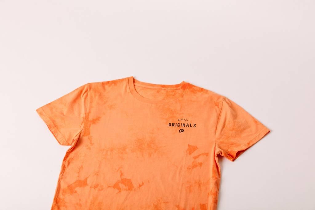 Burnt Orange Tie Dye