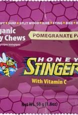 Honey Stinger Organic Energy Chews: Orange, Box of 12 single