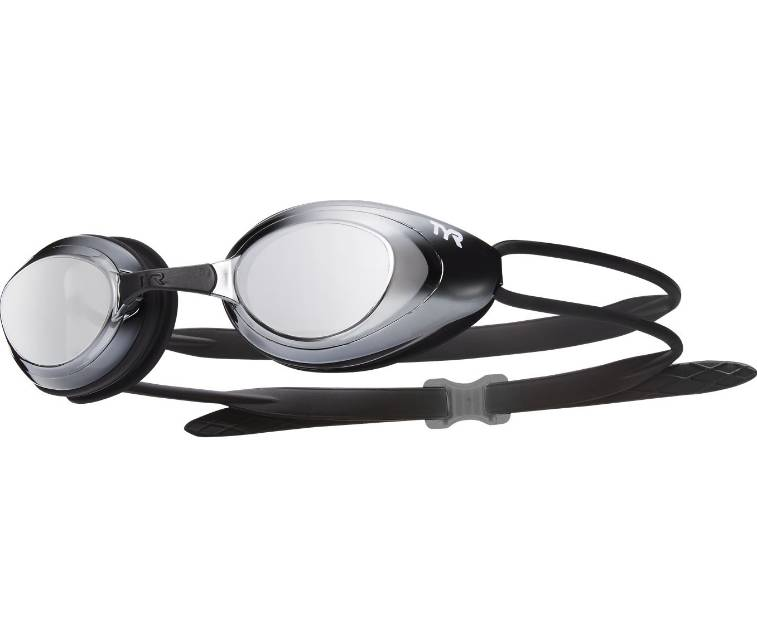 TYR Black Hawk Racing Mirrored Goggle