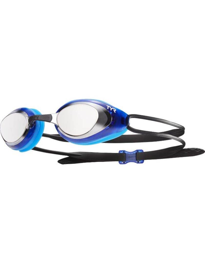 TYR Black Hawk Racing Mirrored Goggle