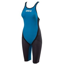 Arena Carbon Flex OB Kneeskin / Grey-Cyan 28