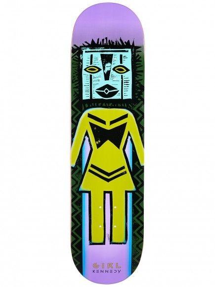 "Girl Skateboard Company Kennedy Tiki OG Deck 8.25"""