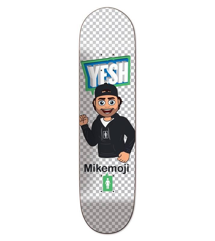 Girl Skateboard Company Mike Moji