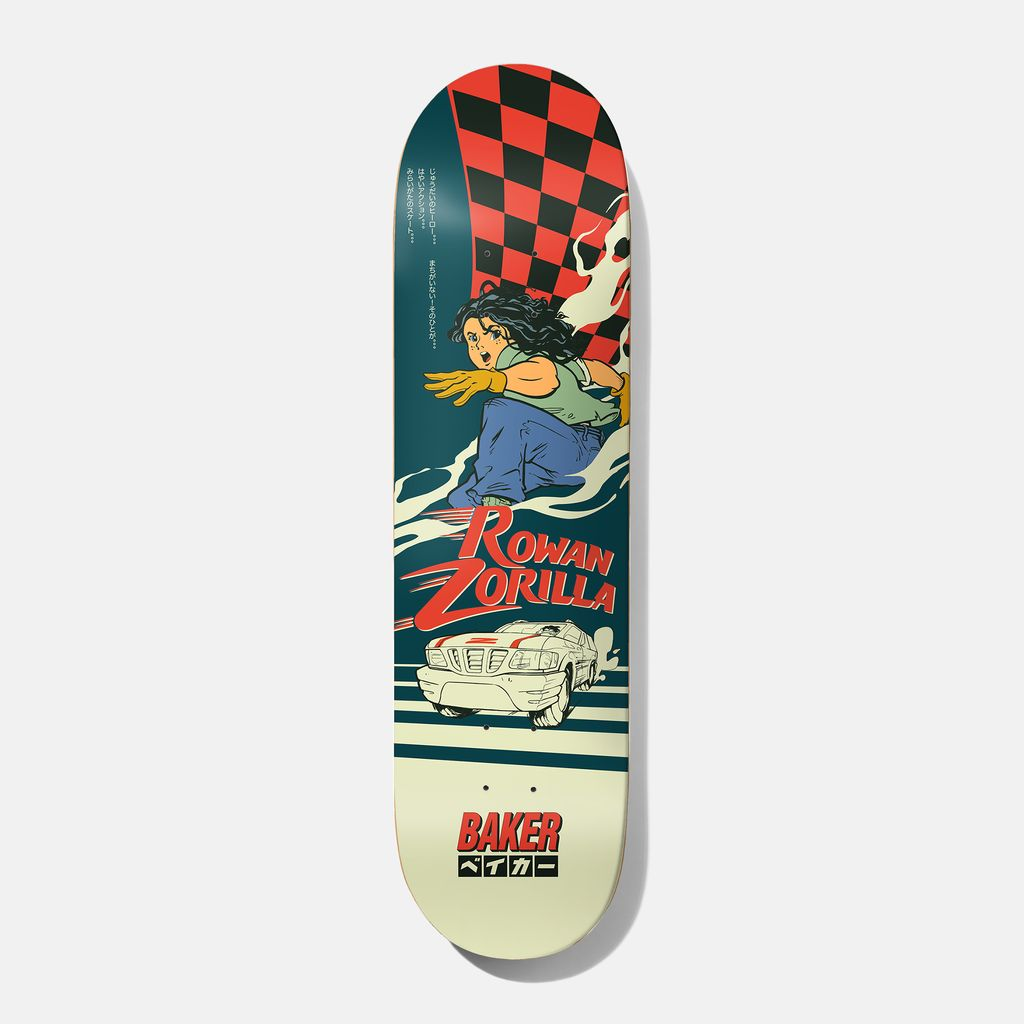 """Baker Skateboards RZ Grand Prix 8.0"""""""