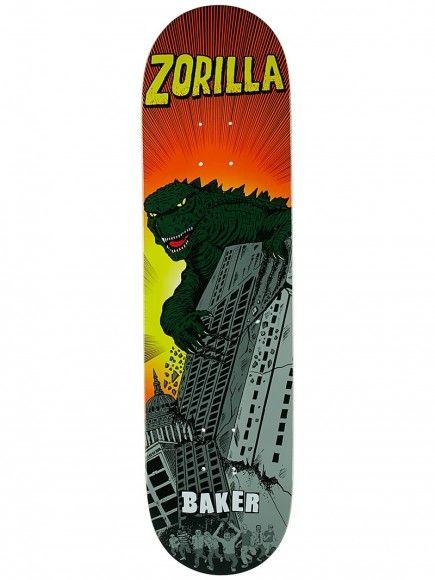 "Baker Skateboards RZ Rozilla 8.125"""