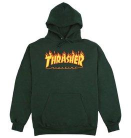 Thrasher Mag. Flame Logo Hood