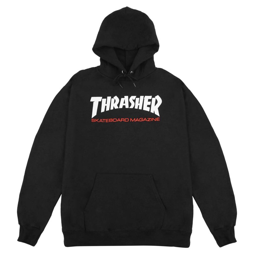 Thrasher Mag. Two Tone Skate Mag Hood