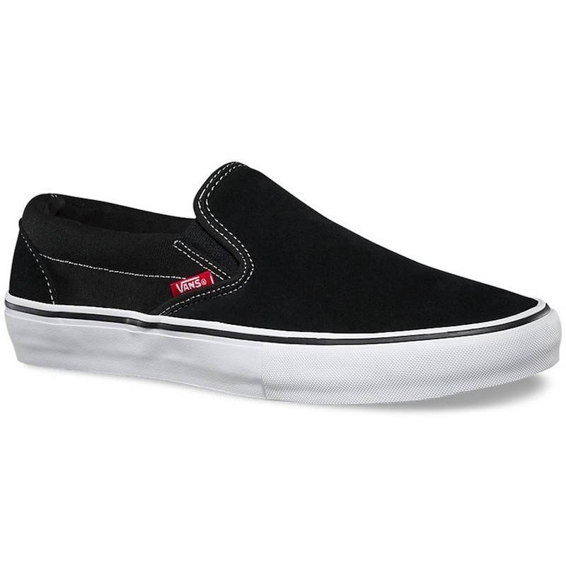 Vans Shoes Slip On Pro Blk/Wht/Gum
