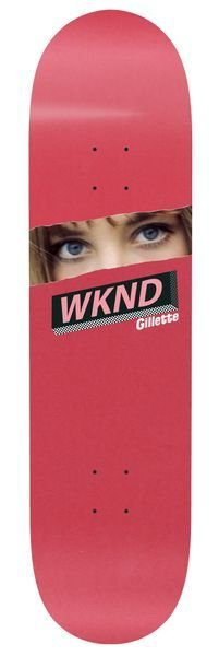 WKND Gillette Eyes Red 8.25