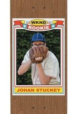 WKND Stuckey Rookie Card Natural 8.0
