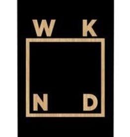 WKND BV Logo Deck Black 8.0