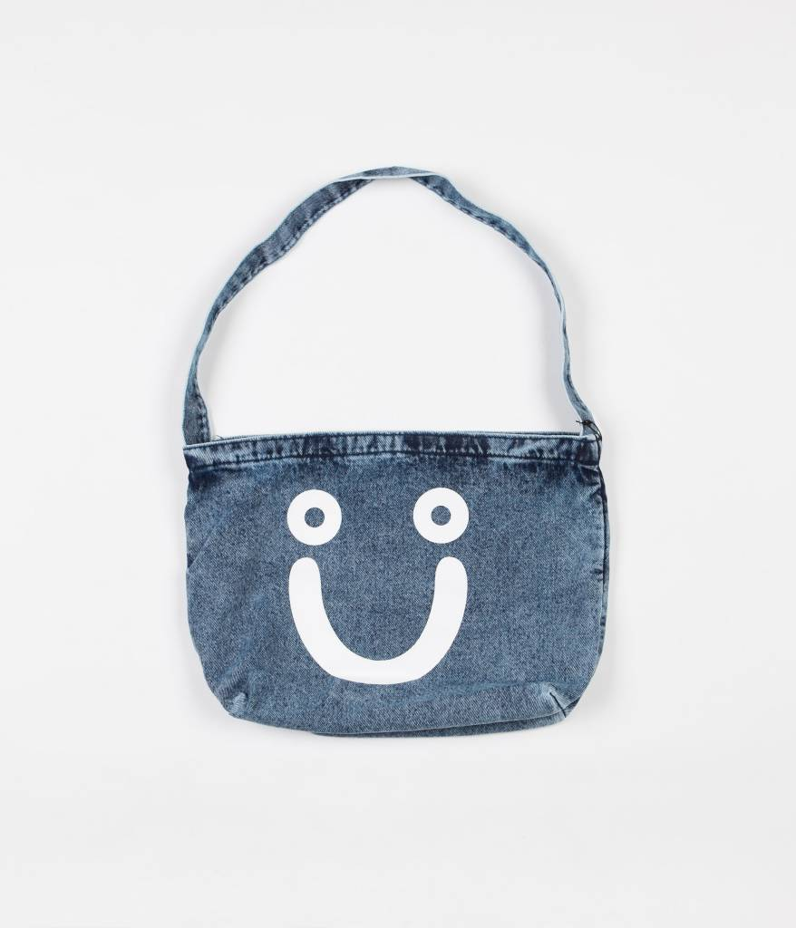 Polar Skate Co. Happy Sad Denim Tote Bag
