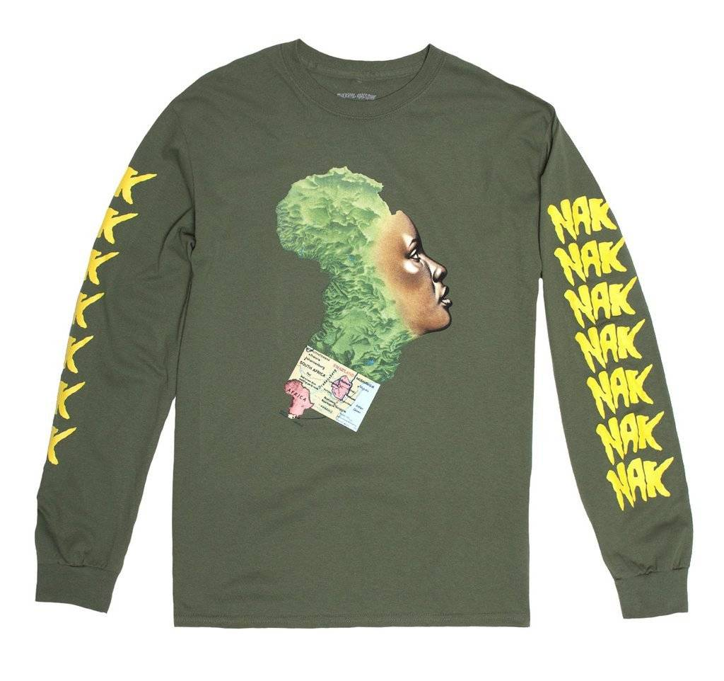 Fucking Awesome NAK Mother Africa L/S