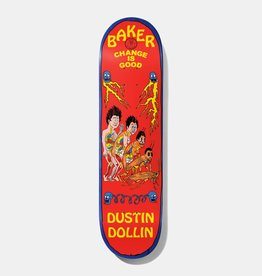 "Baker Skateboards DD Change is Good Deck 8.0"""