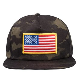 ABC Hats Springsteen Camo Snapback