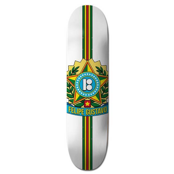 "Plan B Skateboards Felipe Seal 8.25"""