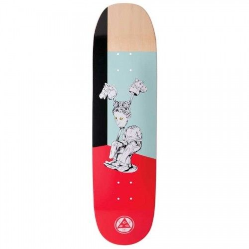 "Welcome Skateboards Hedo Rick on Moontrimmer 2.0 8.5"" Red"
