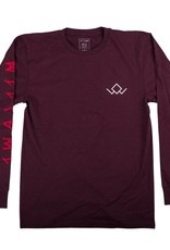 Welcome Skateboards Audrey L/S Tee Wine