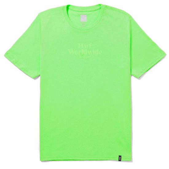 HUF Worldwide Overdye Tee
