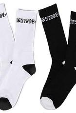 Thrasher Mag. Skate And Destroy Sock