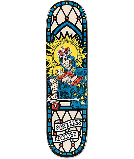 Krooked Skate Mom Gonz 8.38""