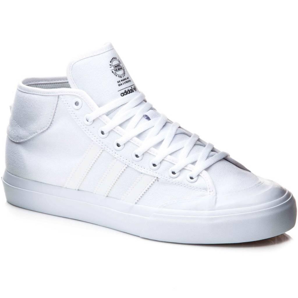 Adidas Matchcourt Mid White/White