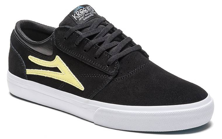 Lakai Griffin Black/Yellow