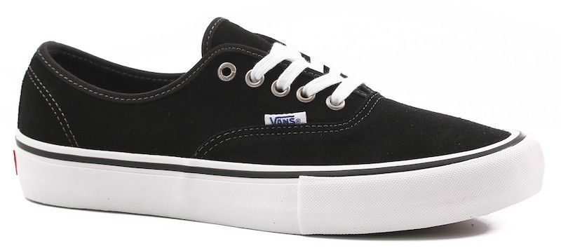 Vans Shoes Authentic Pro Black Suede