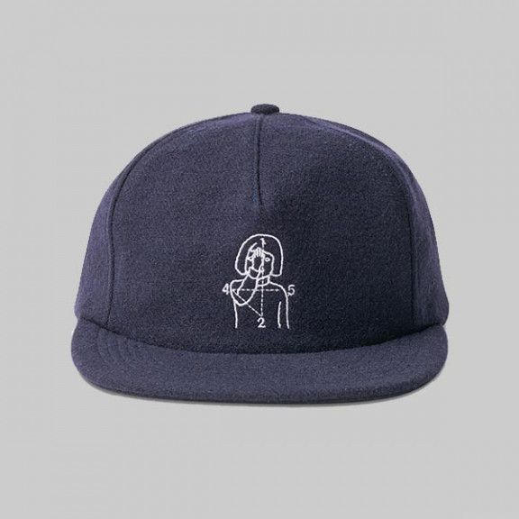 Numbers Edition 12-45 Wool 5-Panel Navy