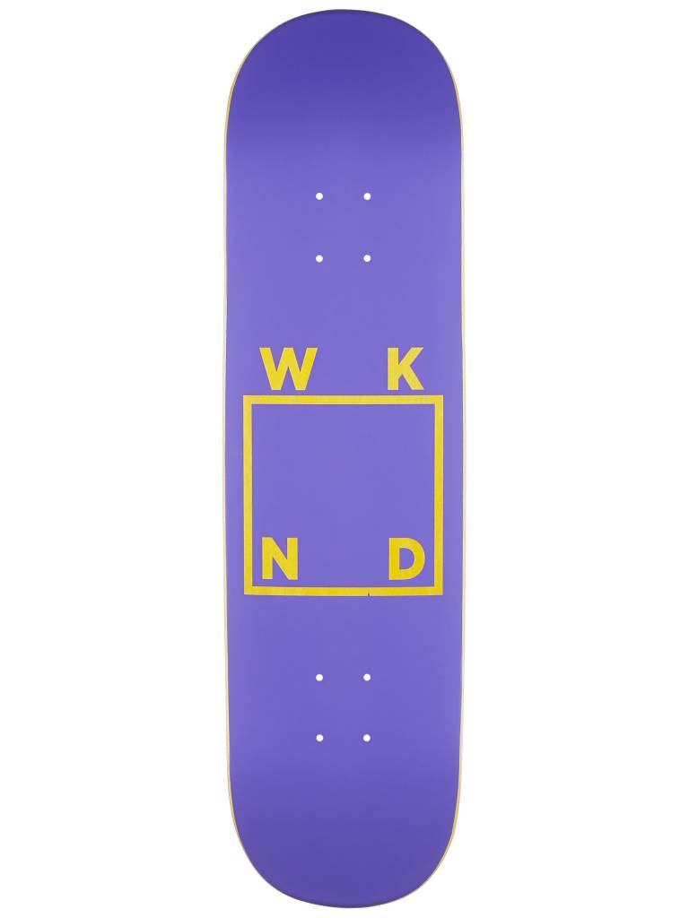 WKND WKND Logo Deck Purple 8.25""