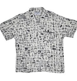 Fucking Awesome Dictionary Cabana Button Down