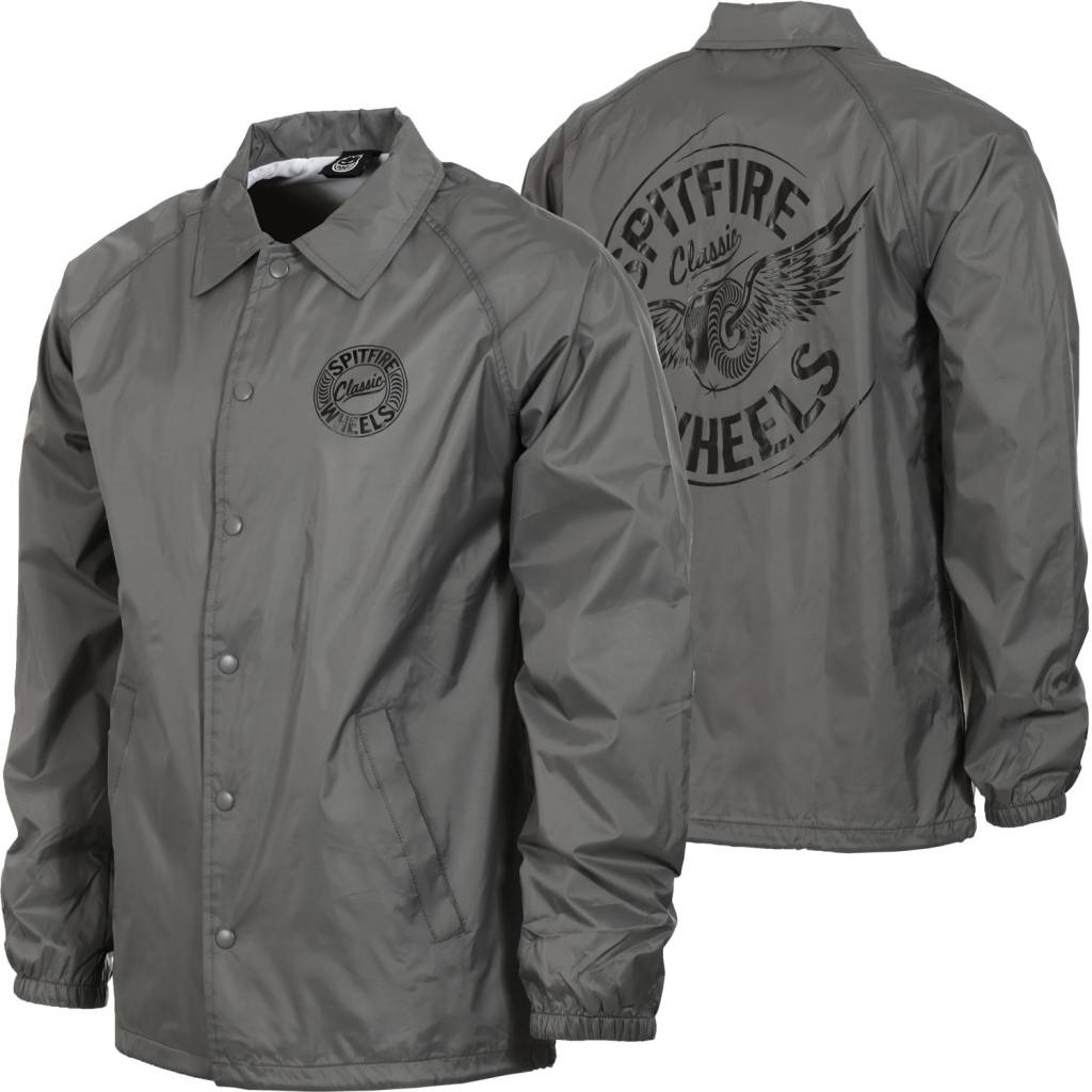 Spitfire Wheels Flying Classic Jacket Grey Small