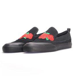 Adidas Matchcourt Slip Black/Scarlet Rose