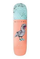Welcome Skateboards Gooser on Yung Nibiru Peach 8.25""