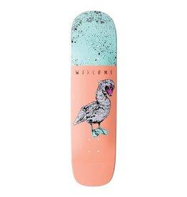 "Welcome Skateboards Gooser on Yung Nibiru Peach 8.25"""