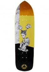 "Welcome Skateboards Hedo Rick on Soul Splitter Yellow 8.75"""