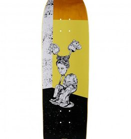 Welcome Skateboards Hedo Rick On Soul Slpitter Yellow 8.75