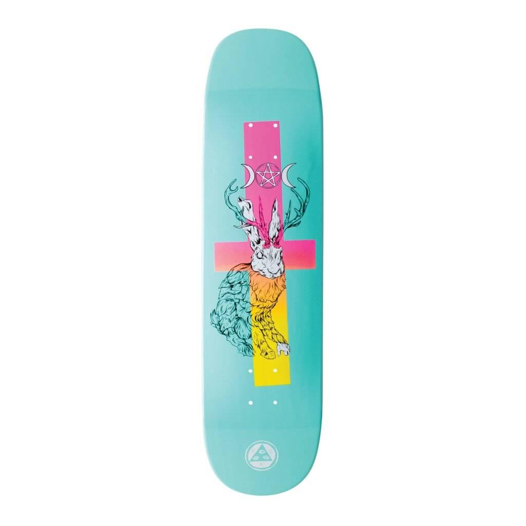 "Welcome Skateboards Jack Magick on Phoenix Teal Dip 8.0"""