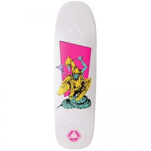 "Welcome Skateboards Twenty Eyes on Golum White Dip 9.25"""
